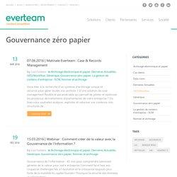 Gouvernance zéro papier Archives - everteam/fr