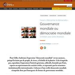 Gouvernance mondiale ou démocratie mondiale