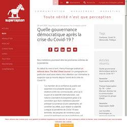 Quelle gouvernance démocratique après la crise du Covid-19 ?