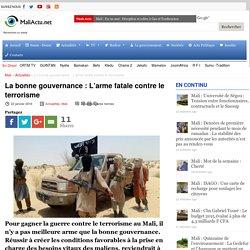 La bonne gouvernance : L'arme fatale contre le terrorisme