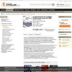 La gouvernance du système d'information dans les PME - J. Carpentier