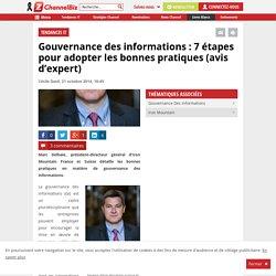 Gouvernance des informations : les bonnes pratiques en 7 étapes