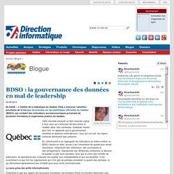 BDSO : la gouvernance des données en mal de leadership