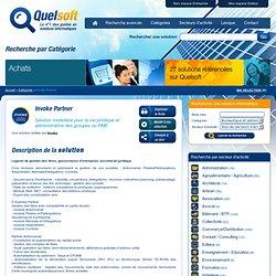 Invoke Partner : Logiciel de gestion des titres, gouvernance d'entreprise, secrétariat juridique.