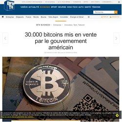 30.000 bitcoins mis en vente par le gouvernement américain