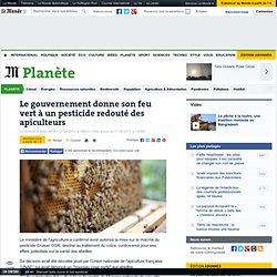 Le gouvernement donne son feu vert à un pesticide redouté des apiculteurs