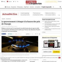 Le gouvernement s'attaque à la hausse des prix de l'énergie