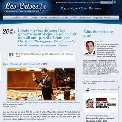 » [Honte – à vous de jouer !] Le gouvernement bloque en pleine nuit un outil anti-paradis fiscaux, par Christian Chavagneux (Mis à jour !)