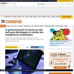 Le gouvernement va lancer un site web pour développer et valider des compétences numériques