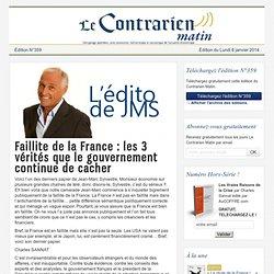 Faillite de la France : les 3 vérités que le gouvernement continue de cacher