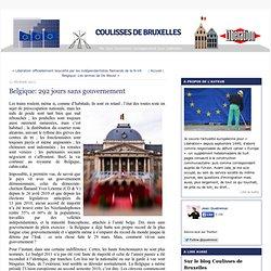 Belgique: 292 jours sans gouvernement