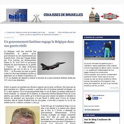 Un gouvernement fantôme engage la Belgique dans une guerre réelle