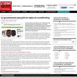 Le gouvernement assouplit les règles du crowdfunding