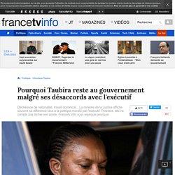 Pourquoi Taubira reste au gouvernement malgré ses désaccords avec l'exécutif