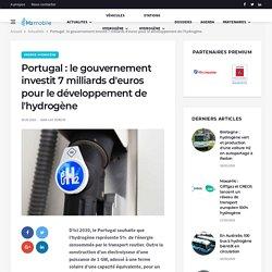 Portugal : le gouvernement investit 7 milliards d'euros pour le développement de l'hydrogène