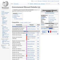 Gouvernement Édouard Daladier (5)