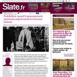 Prohibition: quand le gouvernement américain empoisonnait les buveurs d'alcool