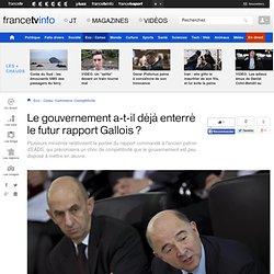 Le gouvernement a-t-il déjà enterré le futur rapport Gallois ?