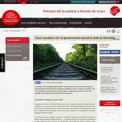 Deux nouvelles LGV: le gouvernement alourdit la dette du ferroviaire