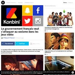 Le gouvernement français veut s'attaquer au sexisme dans les jeux vidéo