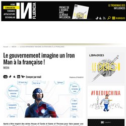 Le gouvernement imagine un Iron Man à la française !