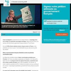 Le gouvernement français doit interdire le folpel!