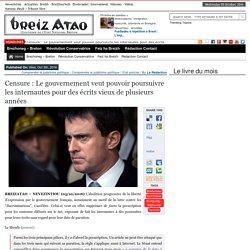 Censure : Le gouvernement veut pouvoir poursuivre les internautes pour des écrits vieux de plusieurs années