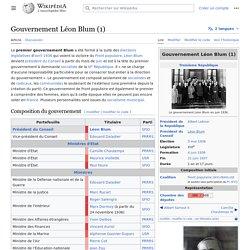 Gouvernement Léon Blum (1)