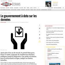 Le gouvernement à data sur les données