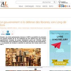 Le gouvernement à la défense des librairies, sans Lang de bois