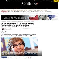 Le gouvernement va lutter contre l'addiction aux jeux d'argent - 17 juin 2013