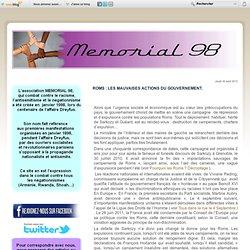 La persécution des Roms - Memorial 98