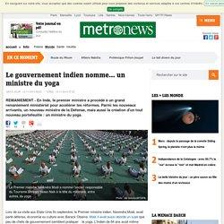Le gouvernement indien nomme... un ministre du yoga
