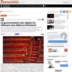 Le gouvernement veut réguler les télécoms sans débat au Parlement