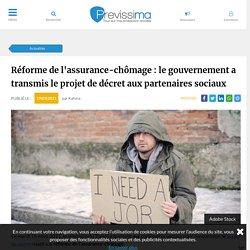 Réforme de l'assurance-chômage : le gouvernement a transmis le projet de décret aux partenaires sociaux