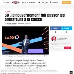 5G : le gouvernement fait passer les opérateurs à la caisse