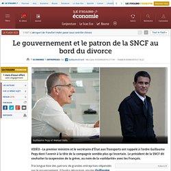 Le gouvernement et le patron de la SNCF au bord du divorce