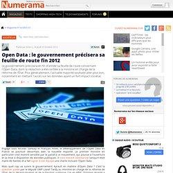 Open Data : le gouvernement précisera sa feuille de route fin 2012