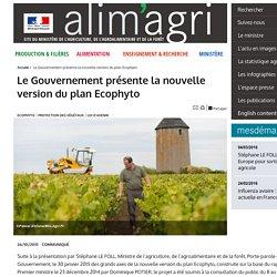 MAAF 26/10/15 Le Gouvernement présente la nouvelle version du plan Ecophyto