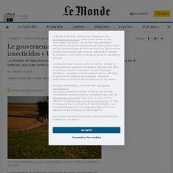 Le gouvernement va réintroduire les insecticides «tueurs d'abeilles»