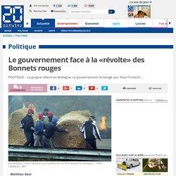 Le gouvernement face à la «révolte» des Bonnets rouges