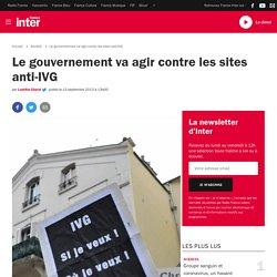 Le gouvernement va agir contre les sites anti-IVG