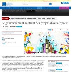 Le gouvernement soutient des projets d'avenir pour la jeunesse
