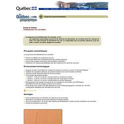 Expertise québécoise - Gouvernement - Télédétection