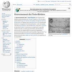 Gouvernement des Trois-Rivières