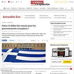 Grèce: le début des ennuis pour les gouvernements européens ?