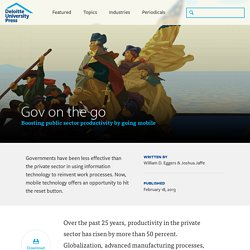 Gov on the go