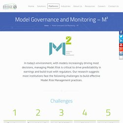 Model Governance and Monitoring