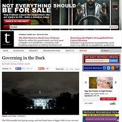 Governing in the Dark