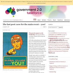 Government 2.0 Taskforce